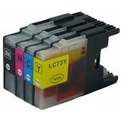 Compatible Brother LC-73bk Black ink cartridge