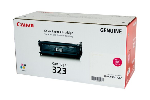 Genuine Canon LBP7750cdn, Magenta 323 laser printer toner cartridge