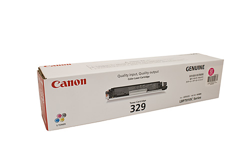 Genuine Canon 329, LBP7018c, Magenta laser printer toner cartridge