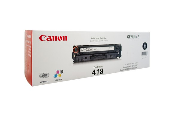 Genuine Canon Colour Laser Printer MF729CX, MF8350CDN, MF8380CDW, MF8580CDW Black Toner Cartridge 418