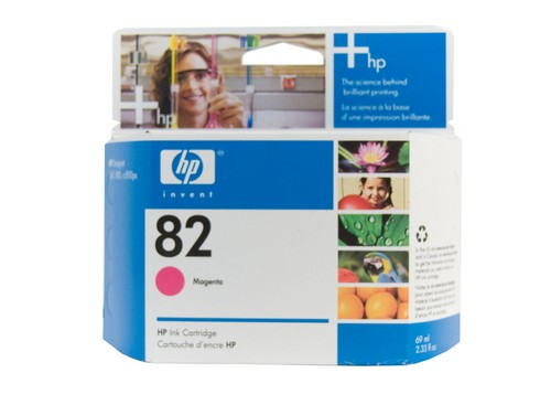 Genuine HP 82 DesignJet Magenta ink cartridge