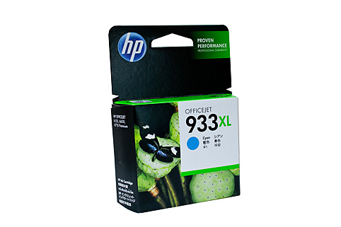 Genuine HP 933XL Officejet Cyan ink cartridge