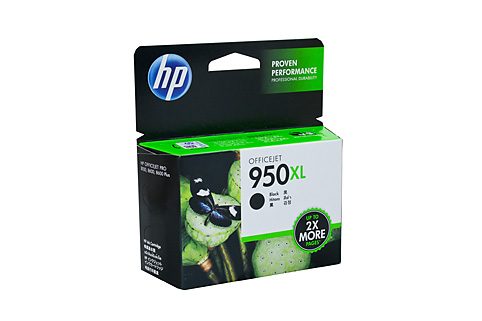Genuine HP OfficeJet Pro 251dw, 276dw, 8100e, 8600 Plus, 8610e, 8620e, 8630 Black Ink Cartridge 950XL