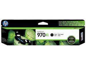 Genuine HP OfficeJet 970XL Black ink cartridge
