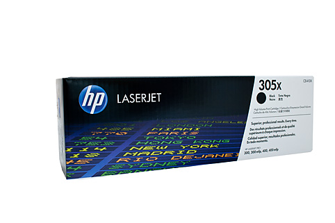 Genuine HP Colour LaserJet M351, M375, M451, M451dn, M451dw, M451nw, M475, M475dw, M475dn Black Toner Cartridge 305X