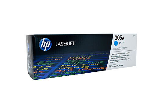 HP 305A Cyan LaserJet toner cartridge ce411a