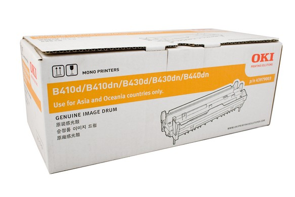 Genuine OKI B410, B430, B440, MB470, MB480 Black Toner Cartridge 43979103