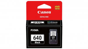 Genuine Canon PG640 Black ink cartridge