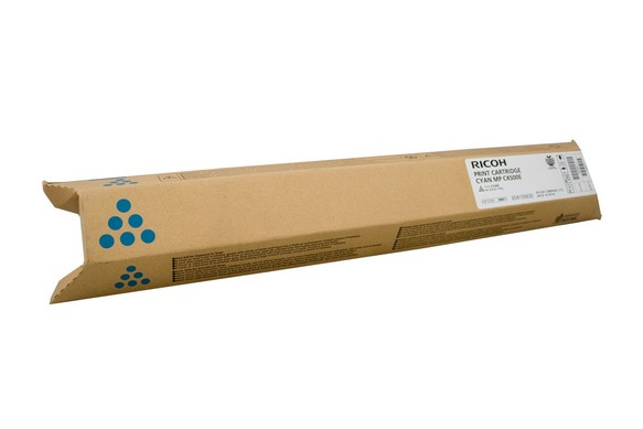 Genuine Ricoh Colour Printer MPC3500, MPC4500 Cyan Toner Cartridge 888611