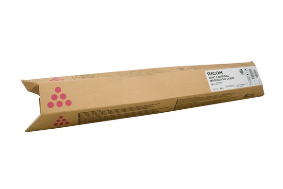 Genuine Ricoh Colour Printer MPC3500, MPC4500 Magenta Toner Cartridge 888610