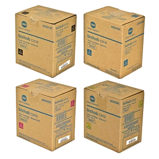 Konica Minolta Bizhub C3110, TNP51 Value Pack Toner Cartridges
