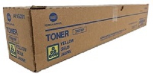 Genuine Konica Minolta Bizhub C220, C280 Yellow Toner Cartridge TN216Y