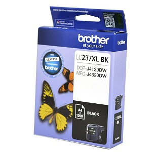 Genuine Brother LC237XLBK, LC-237XLBK Black ink cartridge