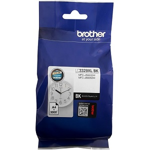 Genuine Brother Colour Ink Printer MFC5930, MFC5930dw, MFC6935, MFC6935dw Black Ink Cartridge LC3329XLBK