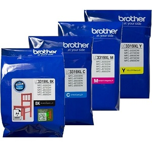 Genuine Brother LC3319XL Rainbow Value Pack Ink Cartridges