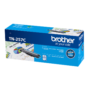 Genuine Brother TN-257C Cyan Toner Cartridge