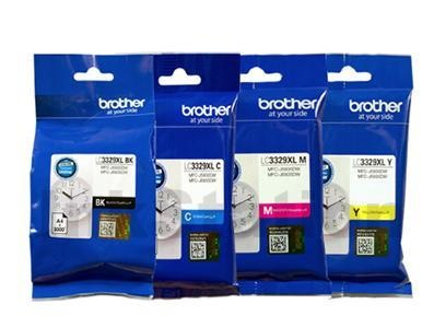 Genuine Brother LC3329XL Ink Cartridge Value Pack