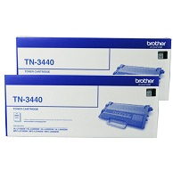 Brother TN-3440 Double Pack Printer Toner Cartridges