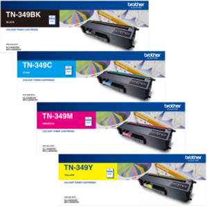 Genuine Brother TN-349 Value Pack Toner Cartridges