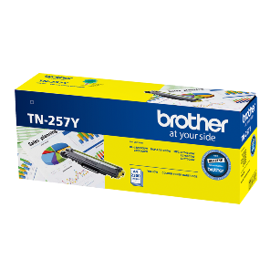 Brother TN-257Y Yellow Toner Cartridge