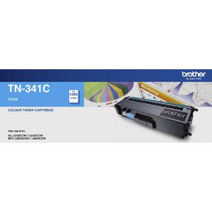 Brother TN-341C Cyan Toner Cartridge