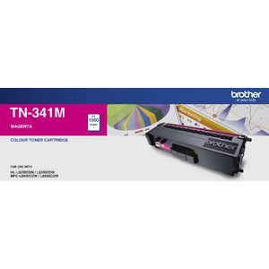 Brother TN-341M Magenta Toner Cartridge