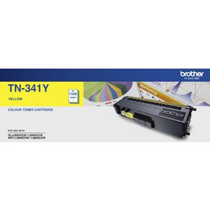 Brother TN-341Y Yellow Toner Cartridge