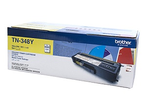 Brother TN-348y Yellow toner cartridge