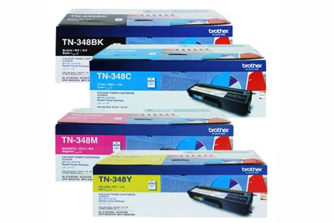 Brother TN-348 Bundle Value Pack Toner Cartridges