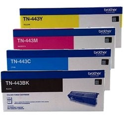 Brother TN-443 Value Pack Printer Toner Cartridges