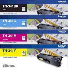 Genuine Brother TN-341 Value Pack Toner Cartridges