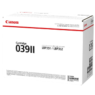 Genuine Canon Laser Printer LBP351, LBP351x, LBP351dn, LBP352, LBP352dn, LBP352x Black High Yield Toner Cartridge 039II