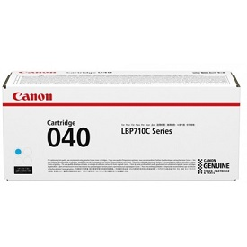 Canon 040 Cyan LBP712 Genuine Toner Cartridge