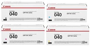 Canon 040 Value Pack Genuine Toner Cartridges