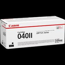 Canon 040II Black LBP712 Printer Genuine Toner Cartridge