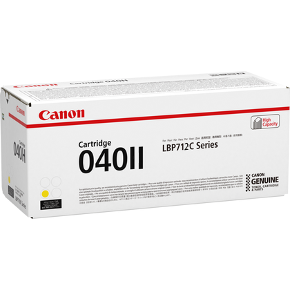 Canon 040II Yellow LBP712 Printer Genuine Toner Cartridge