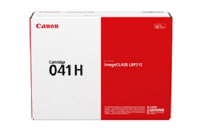 Genuine Canon Laser Printer LBP312, LBP312X, MF525, MF525X High Yield Black Toner Cartridge 041H