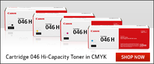 Genuine Canon Laser Printer LBP654, LBP654CX, MF735, MF735CX Multicolour Multipack High Yield Toner Cartridge 046H
