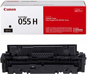 Genuine Canon Colour Laser Printer MF746cx Black High Yield Toner Cartridge 055H