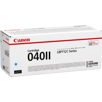 Canon 040II Cyan LBP712 Printer Genuine Toner Cartridge