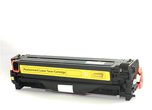 Compatible Canon 418 Yellow laser printer toner cartridge