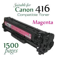 Compatible Canon 416 Magenta laser printer toner cartridge