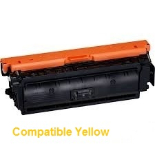 Compatible Canon Colour Laser Printer LBP712 Yellow High Yield Toner Cartridge 040II