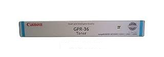 Genuine Canon GPR-36 / TG52 Cyan Toner Cartridge