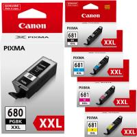 Genuine Canon PGI680XXL, CLI681XXL Value Pack Ink Cartridges