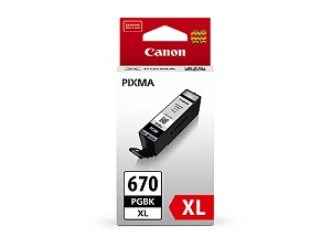 Genuine Canon PGI670XL Black Ink Cartridge