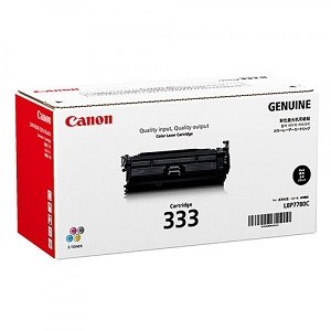 Genuine Canon Laser Printer LBP8780X Black Toner Cartridge 333