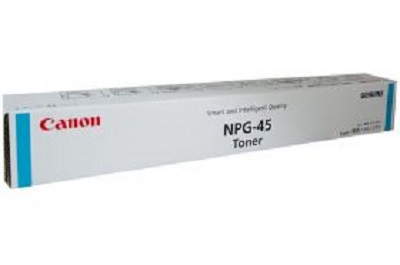 Genuine Canon Colour ImageRunner C5045, C5051, C5250, C5255 Cyan Toner Cartridge TG-45C
