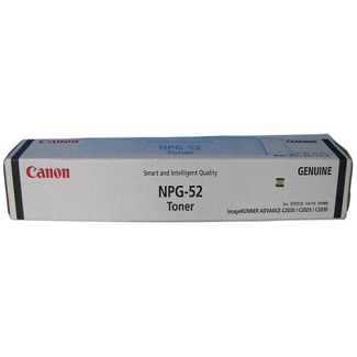 Genuine Canon Colour ImageRunner C2020, C2030, C2220, C2230 Black Toner Cartridge TG52B