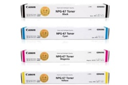 Canon TG67 Value Pack Toner Cartridges